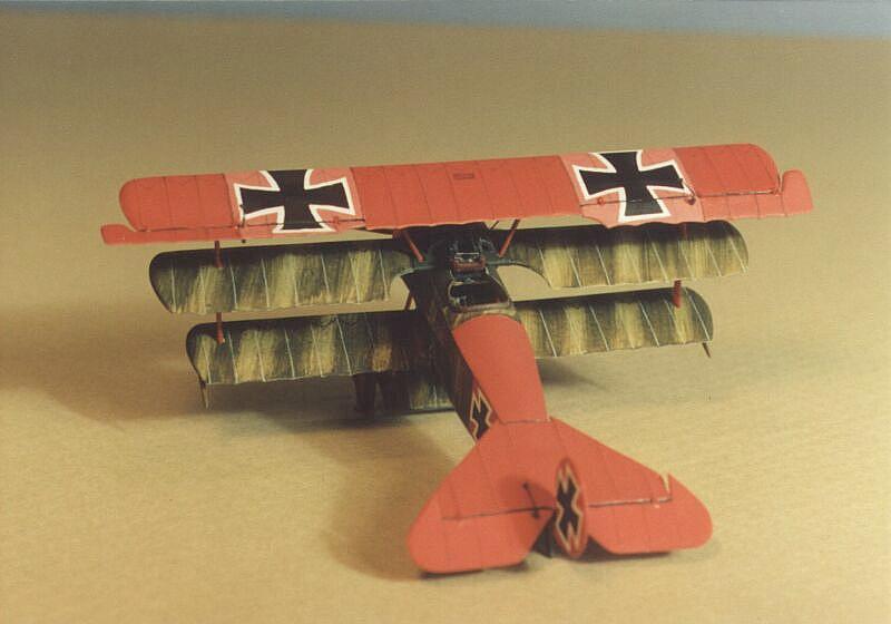 Steve Hustad S Fokker Dr I Models Jg 1