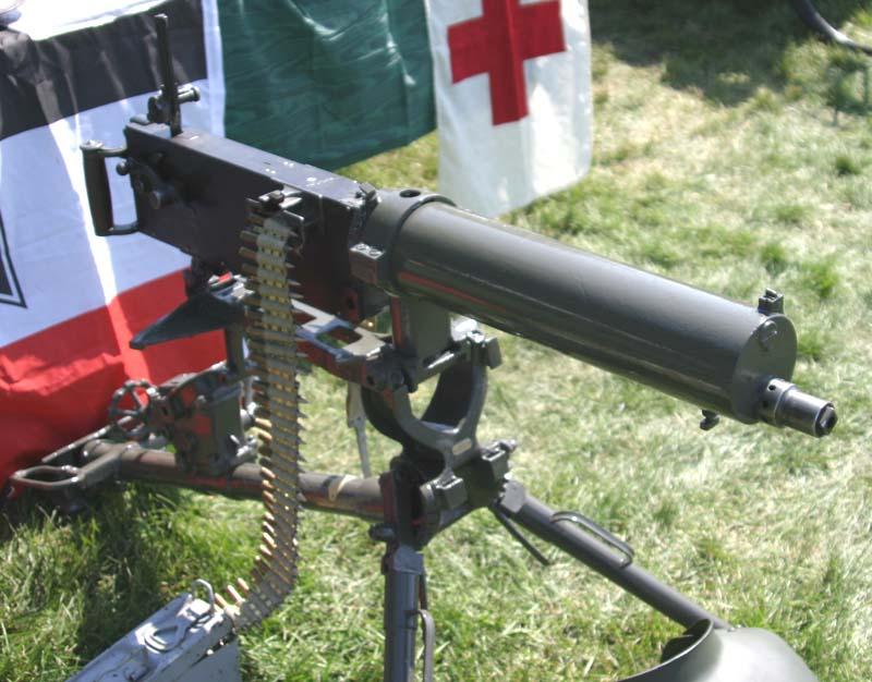 wwi german machine guns