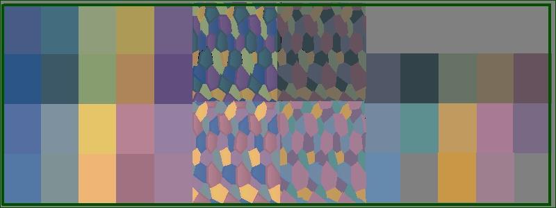 Lozenge Camouflage Information